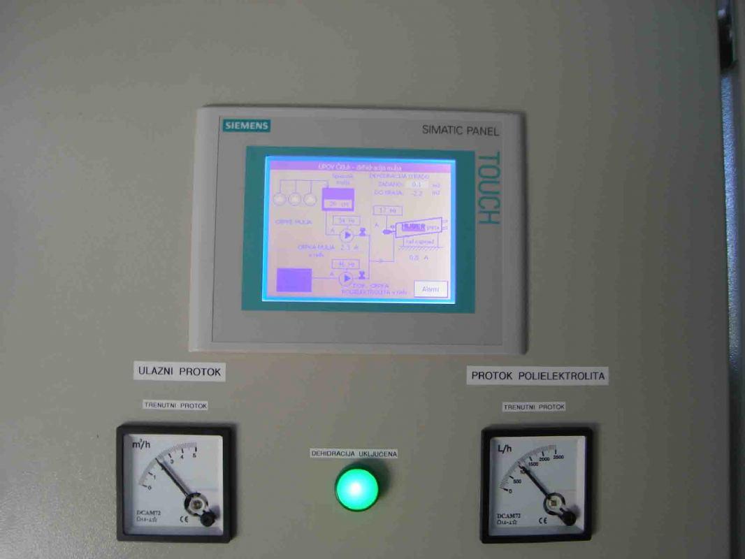 Déshydratation des boues - station d'épuration à Citluk, BIH