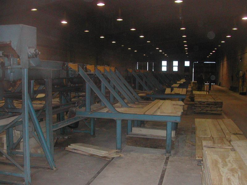 Gerovo Sawmill - Board sorting system